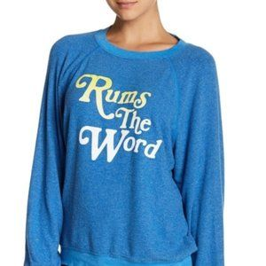Wildfox Rums The Word Graphic Sweater